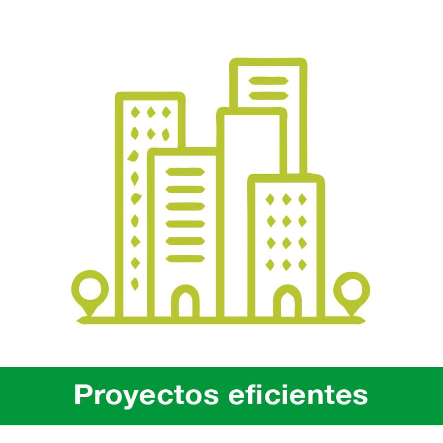 Proyectos realizados por Siber sobre eficiencia energética para viviendas, naves industriales y comercios