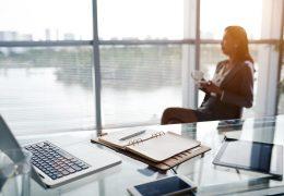 Lugar de trabajo y condiciones óptimas del aire interior