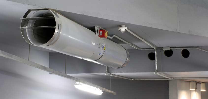 Detectores de humo y extractores contra incendios como - Extractores de humo ...