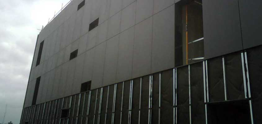 edificio gas radón