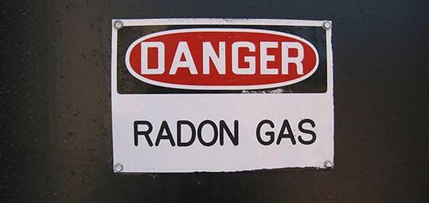 Rebajar el nivel de gas radón