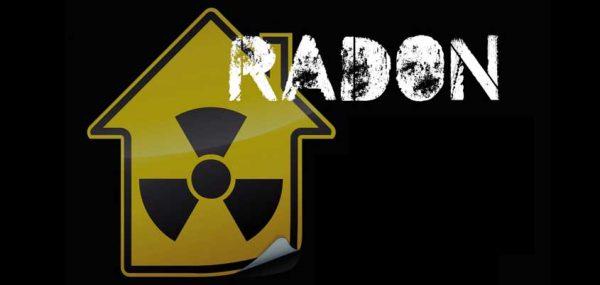 mapa del radón gas radón