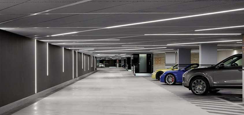 Ventilar un parking