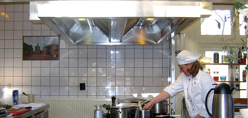 Cocinas extracción humos
