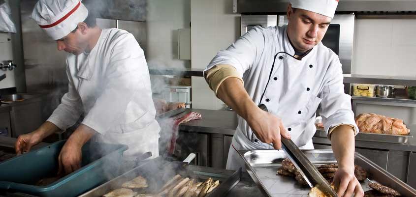 Extracción de aire en restaurantes