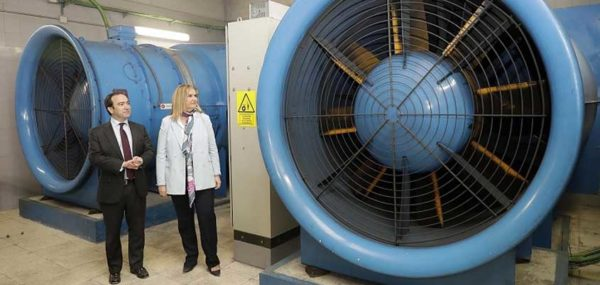 Gestión de ventilación