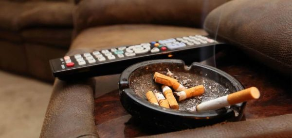 Humo del tabaco en casa
