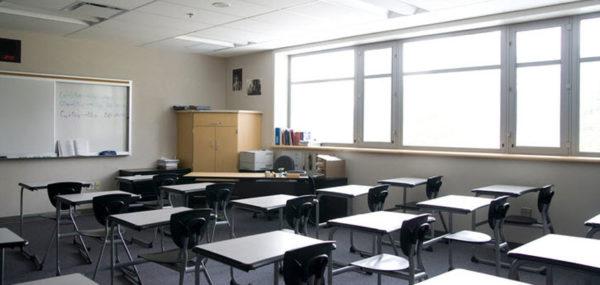 ventilación en colegios