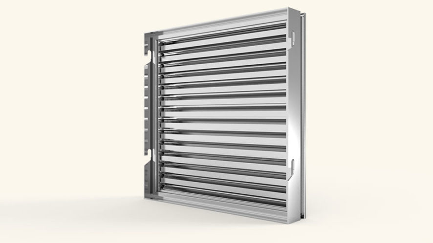 rejillas en sistemas de ventilación mecánicos