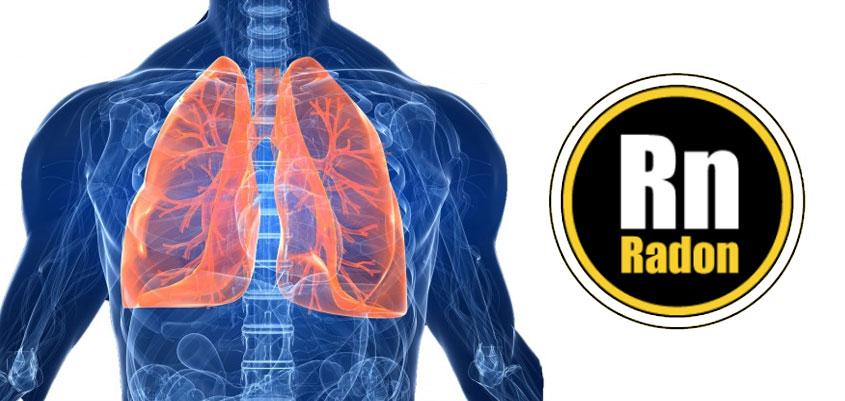 Cáncer de pulmón por gas radón