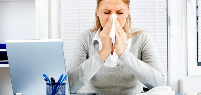 Síndrome de la oficina enferma