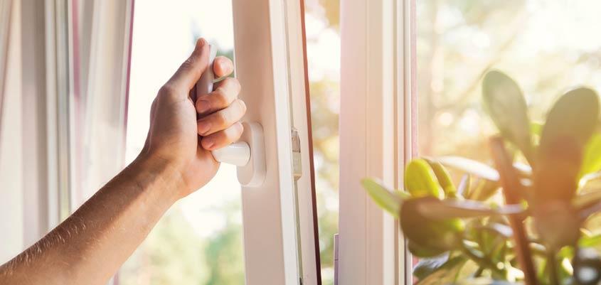 Extracción de aire en el hogar