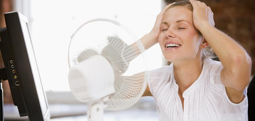 Renovación del aire en verano