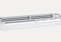 Distribución de las rejillas de ventilación para la entrada de aire